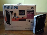 "Philips Freevents LX3000 Slimline Media Centre PC with HP w1907s 19"" LCD Monitor"
