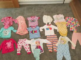Baby/toddler clothing bundle (12-18m) Girls