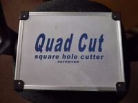 For Sale Quad cut square hole cutter **BARGAIN**