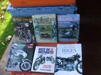 6 CLASSIC MOTORBIKE BOOKS. LOT 2