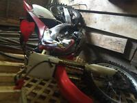 2002 Honda Crf 450 dirt bike