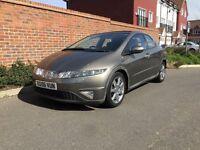 Honda Civic 2.2 EX CDTI (Diesel) + 2006/06 Reg + SAT NAV + XENONS + HIGH SPEC + 5 DOOR + FSH +