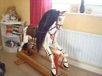 Traditional Style Rocking Horse