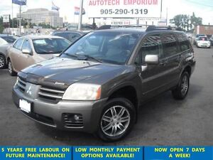 2004 Mitsubishi Endeavor Limited DVD Leather Driven Locally