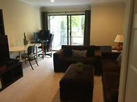 2 newly furnished rooms in West Side Townhouse