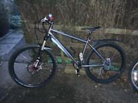 26 inch wheel genesis medium size hardtail bike