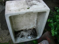 Butler sink -used as planter: excelent for growing herbs etc