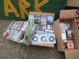 Bulk Job lot 160 DvD's Including Box sets Delivery Available £25