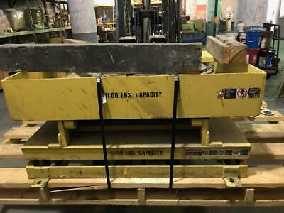 Lee Engineering Presto Scissor Lift Table Ax Series 4000lb Cap. Air Operated