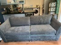 Sofas (4 seater, 2 seater/ love seat and foot stool storage)