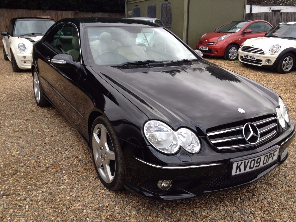 mercedes clk 220 cdi coupe automatic 2009 in enfield london gumtree. Black Bedroom Furniture Sets. Home Design Ideas