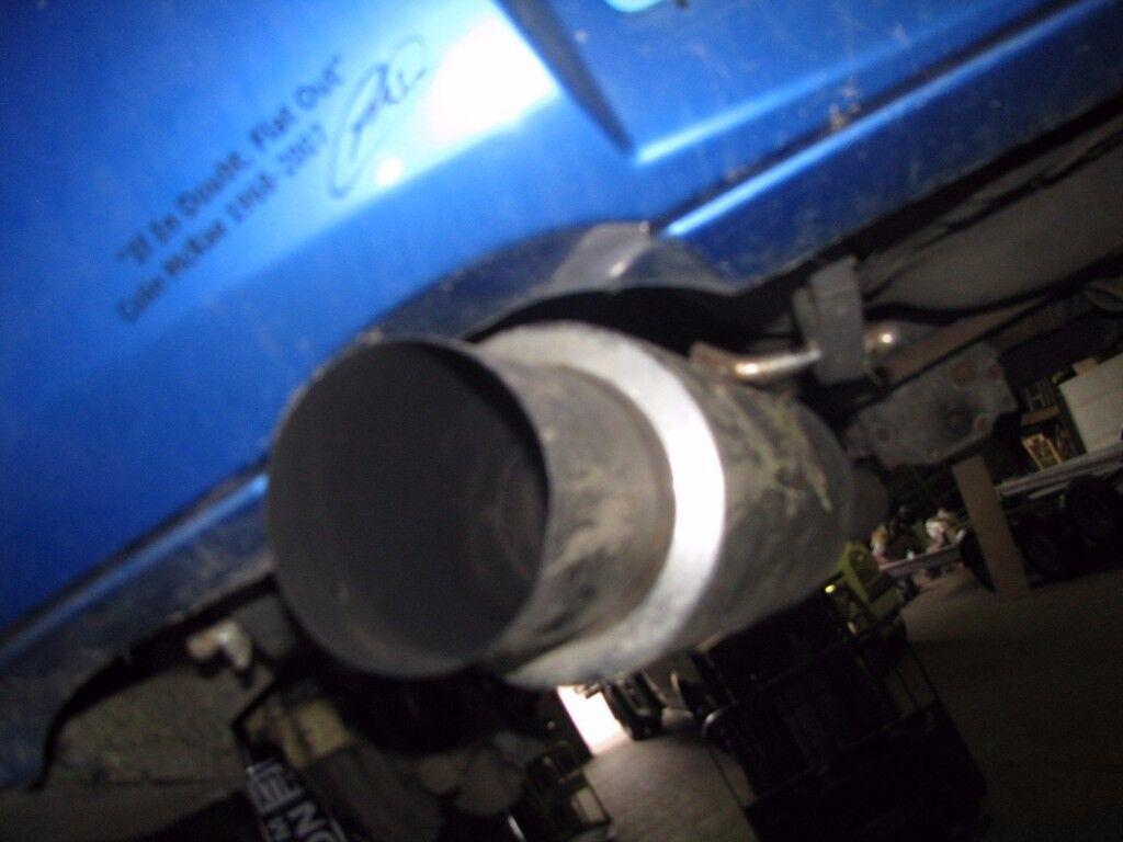 """Subaru Impreza WRX Sti Bugeye Blobeye 3"""" S/S Exhaust System"""
