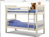 Julian bowen off white bunk beds