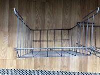 2 x under shelf storage baskets for kitchen or office