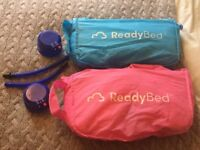 2x Toddler / Childrens / Kids inflatable 'Ready Beds'