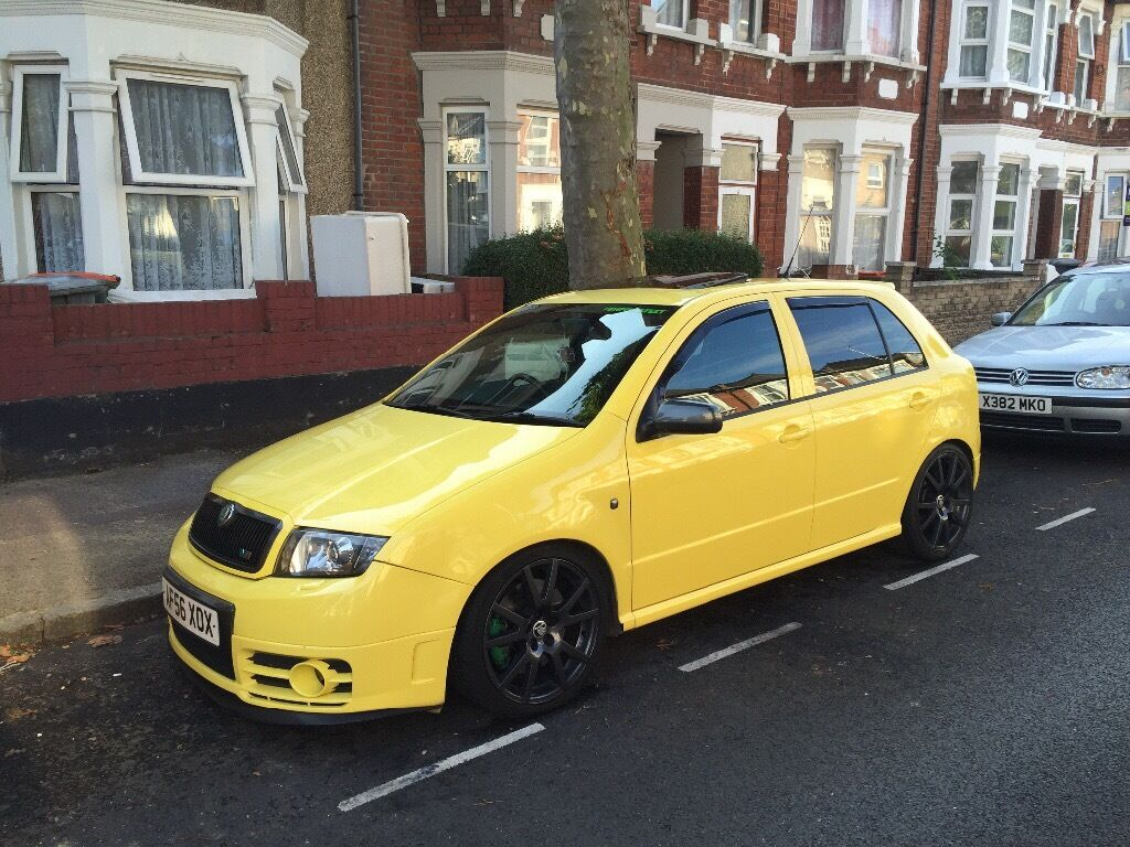 skoda fabia vrs 1 9 tdi remaped 197 8bhp in newham london gumtree. Black Bedroom Furniture Sets. Home Design Ideas