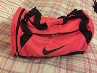 Nike pink gym bag