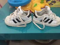 Adidas Superstar size 3 (infant)