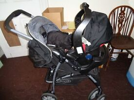 Graco travel system pram