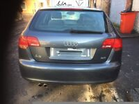 06 AUDI A3 2.0 TDI MANUAL 6 SPEED THIS CARS ALL DOOR TAILGATE BACK LIGHT AVALIABLE