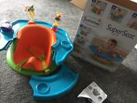 Baby Summer super seat (3 in 1) activity/weening/booster/ sit up seat