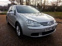 2007...Volkswagen GOLF 1.9 tdi MATCH...NEW BRAKES AND TIRES...Full Service..MOT 04.2017...132 k...