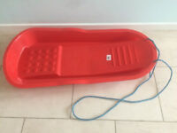 Red Sledge-Red Mini Sledge 'Bum Sledge' -Snow Shovel-items individually priced -see below