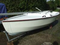 Wayfarer Sailing Dinghy Boat