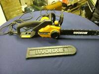 Worx chainsaw
