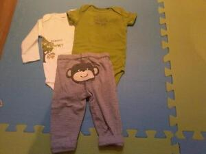 Carters 3 piece outfit 6m