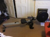 Good as new barely used rowing machine for sale in Streatham £80 ono (rrp £240)