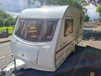 Coachman festival 380/2 lightweight 2 berth caravan with motor mover, awning and recent service