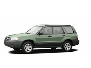 2006 Subaru Forester XS