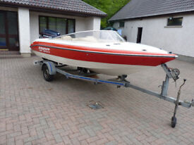 Spirit 16LX Sports/Speed Boat + Evinrude VRO 120HP Engine for Sale