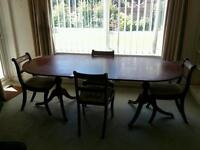 Dinning table and 4xchairs