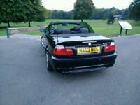 BMW 330Ci Sport Manual - Full Black Leather - e46 - Jan 2005 - convertible