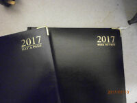 Brand New 2017 Diaries - A5/A4 Size - Week to view / Day a Page