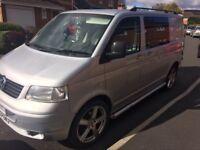 Vw t5 campervan , dvla registered motor home