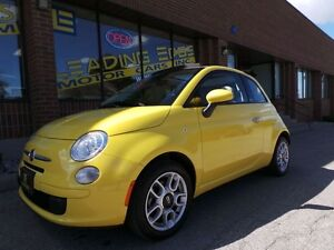 2014 Fiat 500C Pop AUTO, WARRANTY, NO ACCIDENTS!!
