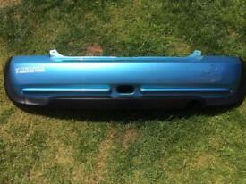 BMW mini R50-53 - Rear Bumper - Light blue