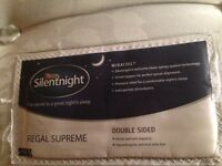 Silentnight Regal Supreme Microcoil Double Mattress (1 year old)