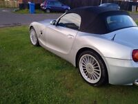 BMW Z4 ROADSTER CONVERTIBLE LEATHER INTERIOR ELECTRIC ROOF FSH (SWAP PX P/X PART EXCHANGE WHY?)