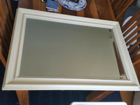 Large mirror from Debenhams - 90cm x 65cm - only £5
