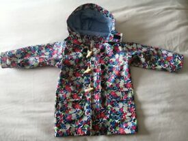 Jojo Maman Bebe Floral Fisherman's Jacket / Rain Coat (2-3yrs)