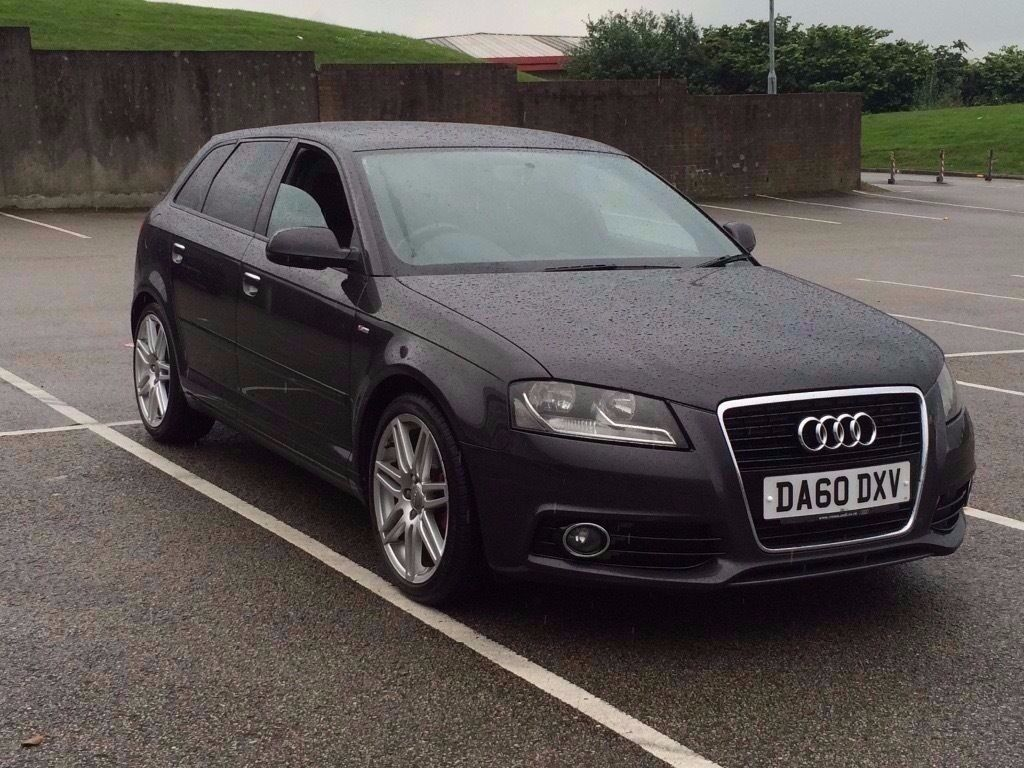 2011 audi a3 2 0 td s line sportback 5dr diesel grey fsh s line a3 sline golf in. Black Bedroom Furniture Sets. Home Design Ideas