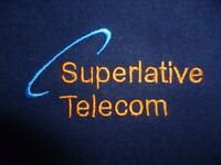 Patch panel, Ethernet and Telephone engineers, Superlative Telecom, Est. 1989.