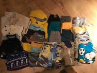 Bundle of boys clothes for 5-6 years