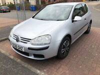 Volkswagen Golf 12 months MOT 1.4 petrol cheap insurance for sale or part exchange PX