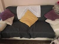 2 seater Ikea sofa without covers