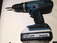 MAKITA HP457D 18v 1.3ah Cordless Drill